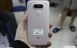 Đại diện LG: Vỏ G5 là hợp kim nhôm, không phải nhựa!