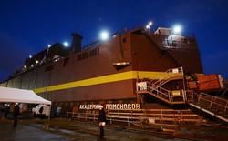 Nga xây nhà máy điện hạt nhân nổi trên tàu phá băng
