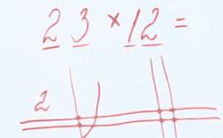 Cách tính nhân 2 chữ số của người Nhật: chỉ cần biết đếm là làm được