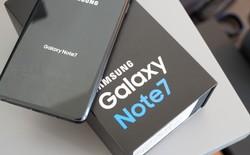 Hộp đựng Note7 trên eBay đang có giá lên tới 60 USD