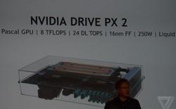 Siêu máy tính của Nvidia dành cho xe tự động lái, mạnh bằng 150 chiếc Macbook Pro