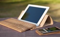 Bàn phím không dây làm từ gỗ, đắt gấp đôi hàng Apple