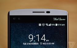 Lộ ảnh thực tế của LG V20, vẫn giữ màn hình phụ giống V10, có camera kép