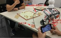 Hình ảnh cho thấy Xiaomi chế tạo Robot với trí tuệ nhân tạo có thể chơi cờ