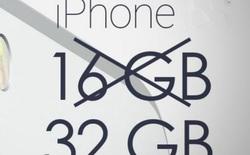 Mừng là iPhone 7 đã có bản 32GB! Nhưng đây là lý do bạn vẫn nên chọn dung lượng cao hơn