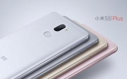Xiaomi trình làng Mi 5s Plus, hai camera 13 MP phía sau, màn 5.7 inch, RAM 6 GB, giá từ 7,6 triệu đồng