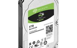 Seagate ra mắt ổ cứng 5TB cho laptop, giá chưa tới 2 triệu đồng