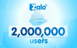 Zalo có 2 triệu người dùng ở thị trường nước ngoài đầu tiên