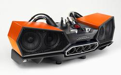 Dàn âm thanh này được chế tạo như một siêu xe