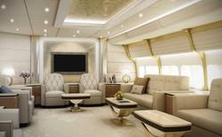Ngắm nhìn nội thất sang trọng của chiếc máy bay tư nhân mà bạn có bán vài cái nhà cũng khó mua nổi