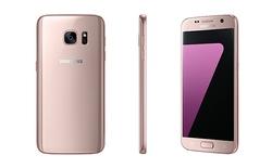 Samsung ra mắt phiên bản vàng hồng của Galaxy S7 và S7 Edge