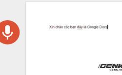 Tôi đã thử viết bài này bằng cách đọc cho Google Docs nghe, và đây là kết quả