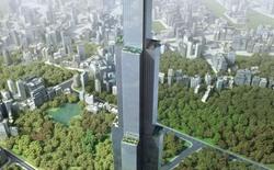 Tòa tháp cao nhất thế giới sử dụng công nghệ xây dựng thần tốc của Trung Quốc đã trở thành trại nuôi cá