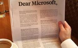 Quá lo sợ Microsoft Teams, Slack đi trước một bước với bức tâm thư chiếm trọn một trang báo New York Times