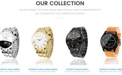 Cronovo – smartwatch đo điện tâm đồ chuyên nghiệp, độ chính xác 99,9%, giá chỉ từ 99 USD