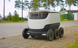 Phải chăng công nghệ drone giao hàng tương lai không phải ở trên không mà là dưới mặt đất?