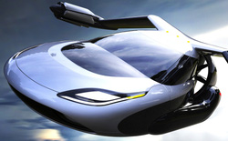 Ngắm nhìn ảnh chiếc xe bay có thể gấp gọn để đỗ vào bãi đậu xe của đồng sáng lập Google
