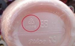 95% người dân không biết ý nghĩa của các con số dưới đáy chai, hộp nhựa