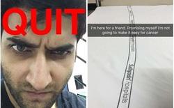 Câu chuyện cảm động trên Snapchat của chàng trai này sẽ giúp bạn thêm động lực bỏ thuốc lá