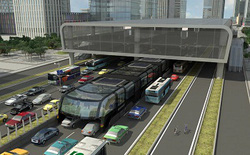 """6 vấn đề chưa có lời giải về tính khả thi của """"xe bus dạng chân"""" đầu tiên trên thế giới"""