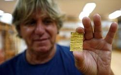 Khai quật được miếng vàng khắc câu thần chú gọi quỷ tại Serbia