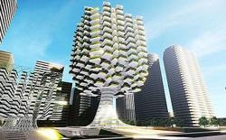 Kỹ sư Hàn Quốc thiết kế trang trại ngay trong thành phố, mang hình dáng của một cây xanh khổng lồ