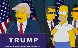 Các bạn đã nhầm, bộ phim hoạt hình Gia Đình Simpson KHÔNG dự đoán trúng kết quả bầu cử Tổng thống Mỹ