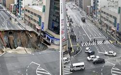 Đây là cách người Nhật làm nên điều kì diệu: sửa xong hố tử thần rộng 30 mét chỉ trong vài ngày