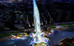 Làm thế nào mà người Hàn Quốc tạo nên được tòa tháp vô hình độc nhất trên thế giới này?