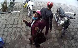 Cô gái dàn cảnh trộm laptop bị camera nhận diện