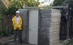 Sinh viên xây nhà siêu nhỏ bằng công nghệ in 3D chỉ trong 1 ngày