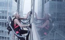 LG chứng minh sức mạnh máy hút bụi theo cách không tưởng nổi: leo cao ốc 140 mét