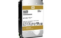 Ổ cứng Western Digital Gold 10TB giá 18 triệu đồng, sử dụng khí Heli