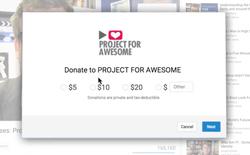 """YouTube ra mắt tính năng """"quyên góp từ thiện"""","""