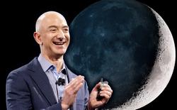 Không chỉ làm chủ Amazon, Jeff Bezos còn muốn biến mặt trăng thành thuộc địa