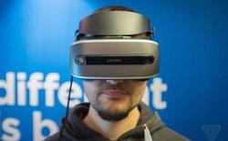 Lenovo ra mắt chiếc kính VR Windows Holographic tại CES 2017, kết hợp giữa Oculus Rift và HoloLens