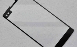 Lộ hình ảnh mặt kính trước của LG V30, có camera selfie kép và màn hình phụ