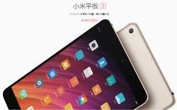 """Xiaomi trình làng Mi Pad 3, vẫn chiêu """"cấu hình cao nhưng giá lại rẻ"""""""