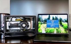 Gắn thêm card đồ họa rời GTX 1080 Ti, tăng gấp 4 lần sức mạnh cho MacBook Pro