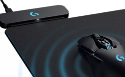 Logitech G Powerplay: Vừa là tấm lót chuột, vừa là sạc không dây khổng lồ, giá bán 99,99 USD