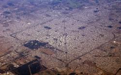"""Đây là thành phố """"ngăn nắp"""" nhất Trái Đất này, hãy nhìn ảnh chụp từ vệ tinh, bạn sẽ không tin nổi vào mắt mình"""