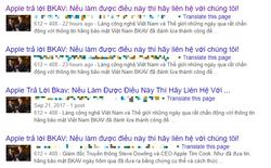 Không hề có chuyện Apple trả lời BKAV hay nói họ là trẻ con đâu, tin bạn đọc được đều là giả