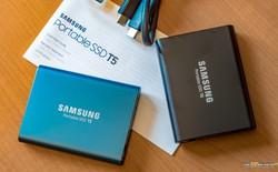 Samsung giới thiệu ổ cứng di động SSD T5: Nhỏ gọn, tốc độ 540 MBps, giá chỉ từ 130 USD