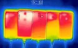 Đọ cấu hình smartphone xưa rồi, bây giờ phải đọ độ nóng khi cắm sạc giữa S7 edge, Pixel, Mi Note 2...