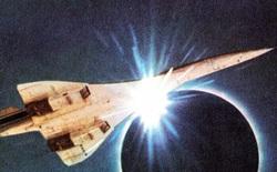 Năm 1973, một nhóm các nhà thiên văn đã bay đuổi theo Nhật thực trên phi cơ Concorde