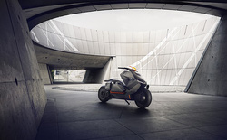 Chiêm ngưỡng ý tưởng BMW E-Scooter chạy điện, thiết kế hầm hố như bước ra từ thế giới tương lai