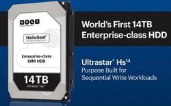 Đáp trả Seagate, Western Digital ra mắt ổ cứng lưu trữ 14 TB lớn nhất thế giới