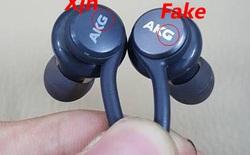 Hãy cẩn thận: Đã có tai nghe AKG Galaxy S8 fake và đây là cách nhận biết