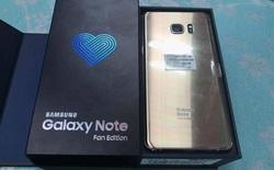 Vỡ mộng với Galaxy Note Fan Edition (Note 7 FE) đầu tiên vừa về đến Việt Nam, giá tận 16 triệu đồng