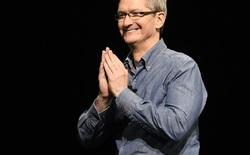 Tim Cook nhận khoản thưởng khổng lồ khi lãnh đạo Apple vượt mặt hai phần ba công ty lớn nhất thế giới